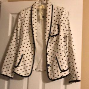 NWT Women's Express Polka Dot Blazer Size 4 😍